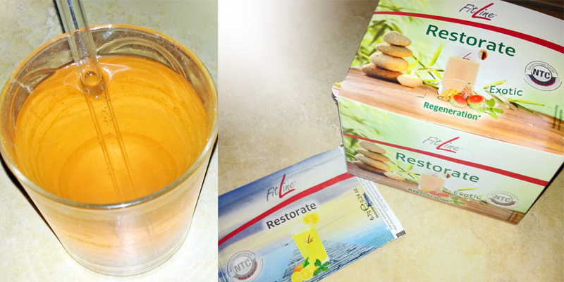 FitLine Restorate Produkt, Drink, meine Erfahrung